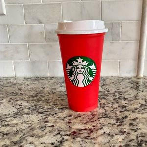 Starbucks holiday 2018 reusable plastic tumbler